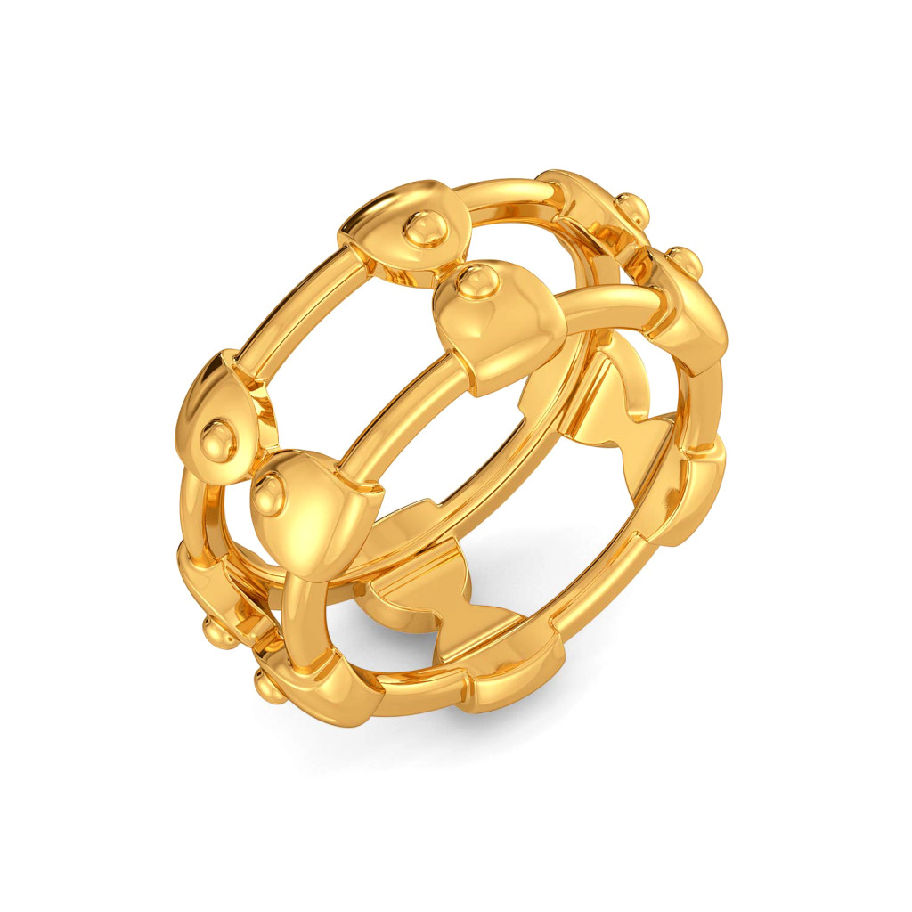 Jaunt Jamboree Gold Rings