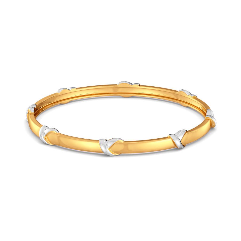 Loop Troops Gold Bangles