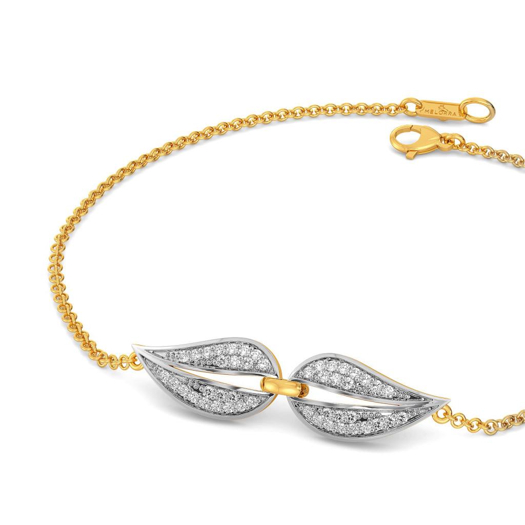 Twinning Paisley Diamond Bracelets