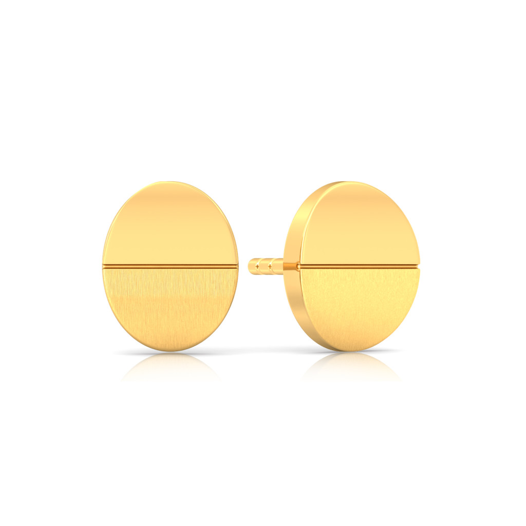 Classic gold Gold Earrings