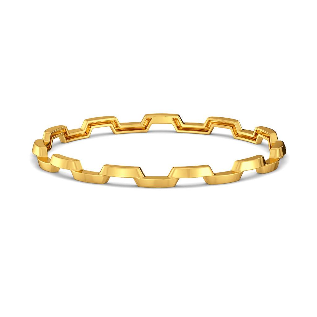 Lapel Layers Gold Bangles