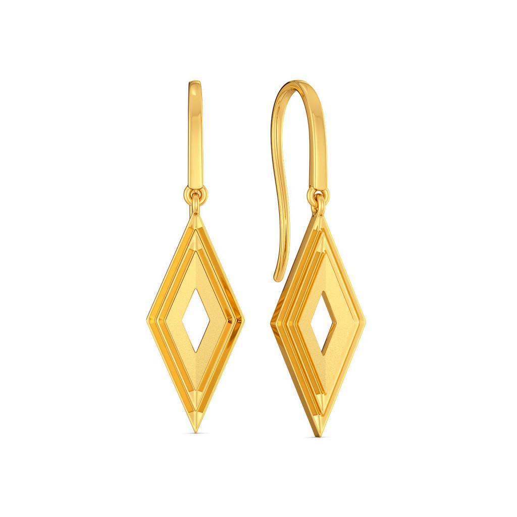 Riva Diva Gold Earrings