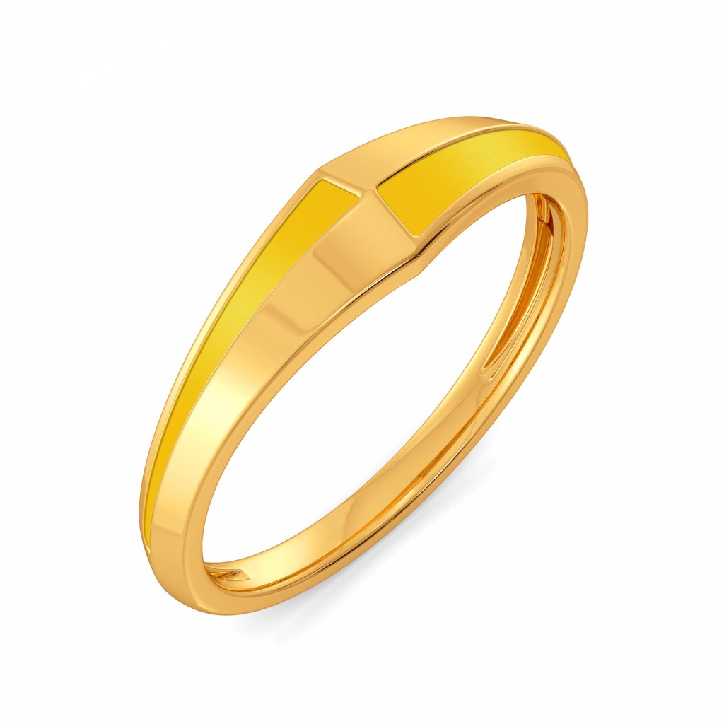 Graduate to Cool Gold Rings