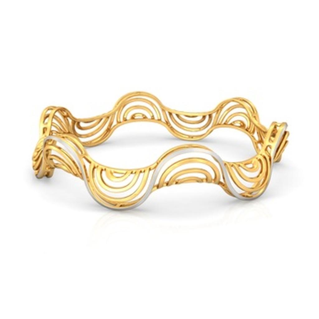 FourC Gold Bangles