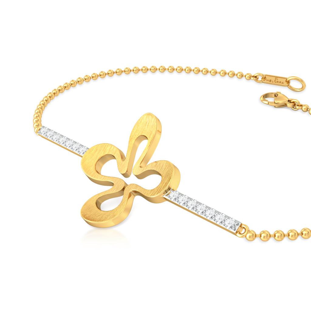 Clever Clover Diamond Bracelets
