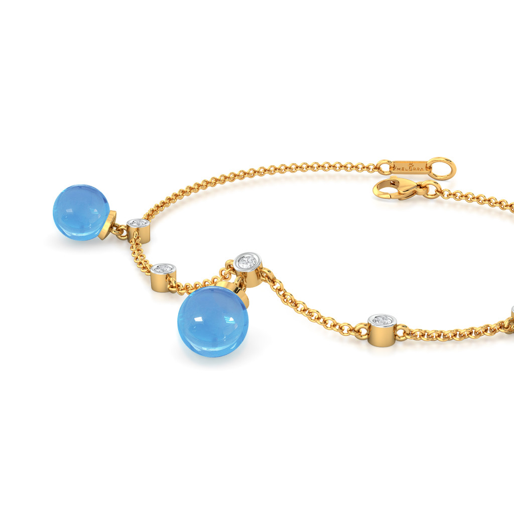 Blue Dew Diamond Bracelets