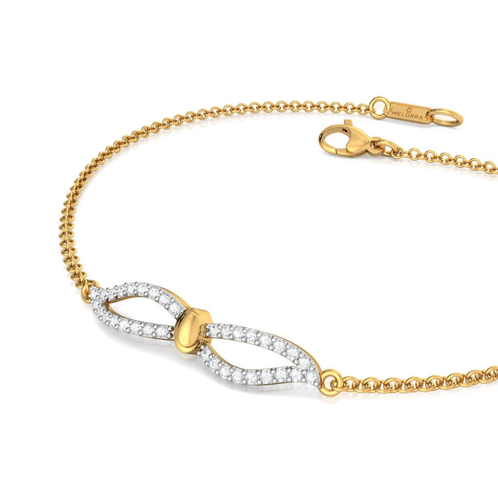 Double Daze  Diamond Bracelets