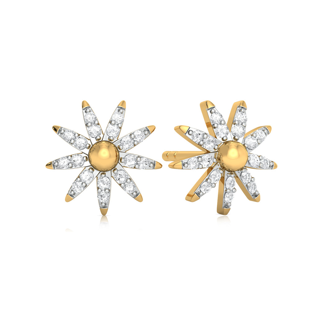 Sprinkle Sparkle Diamond Earrings