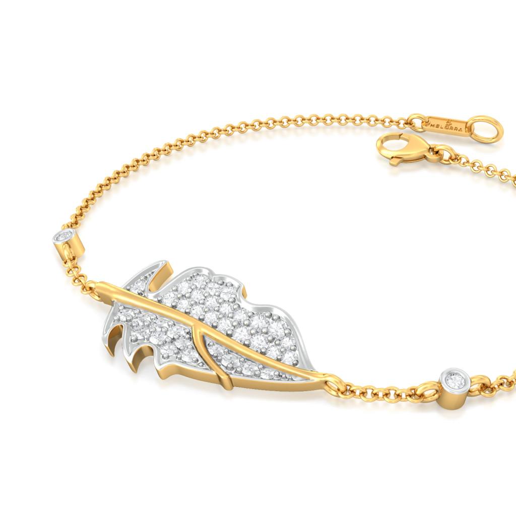 Balmy Palm Diamond Bracelets
