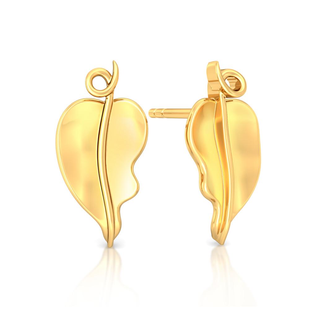 Spring Basics Gold Earrings