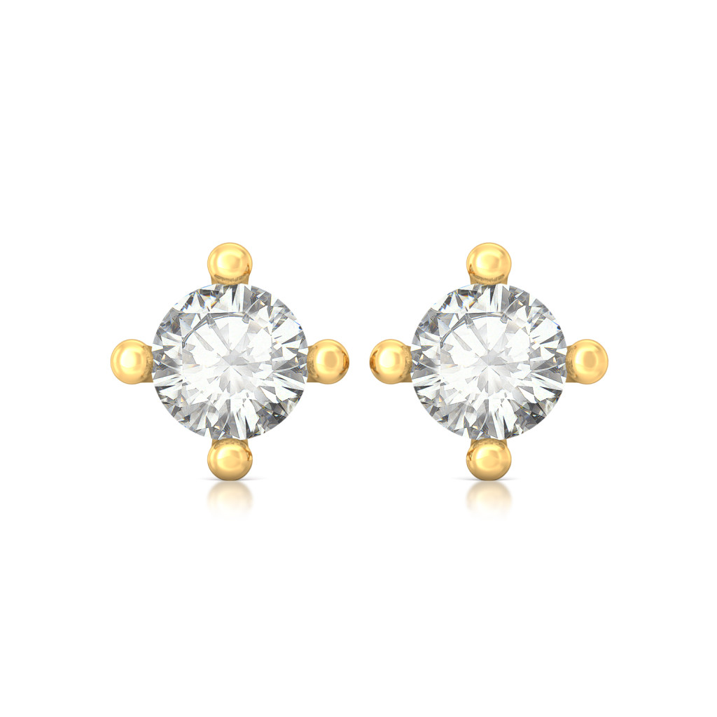 Sparkle Spot Diamond Earrings