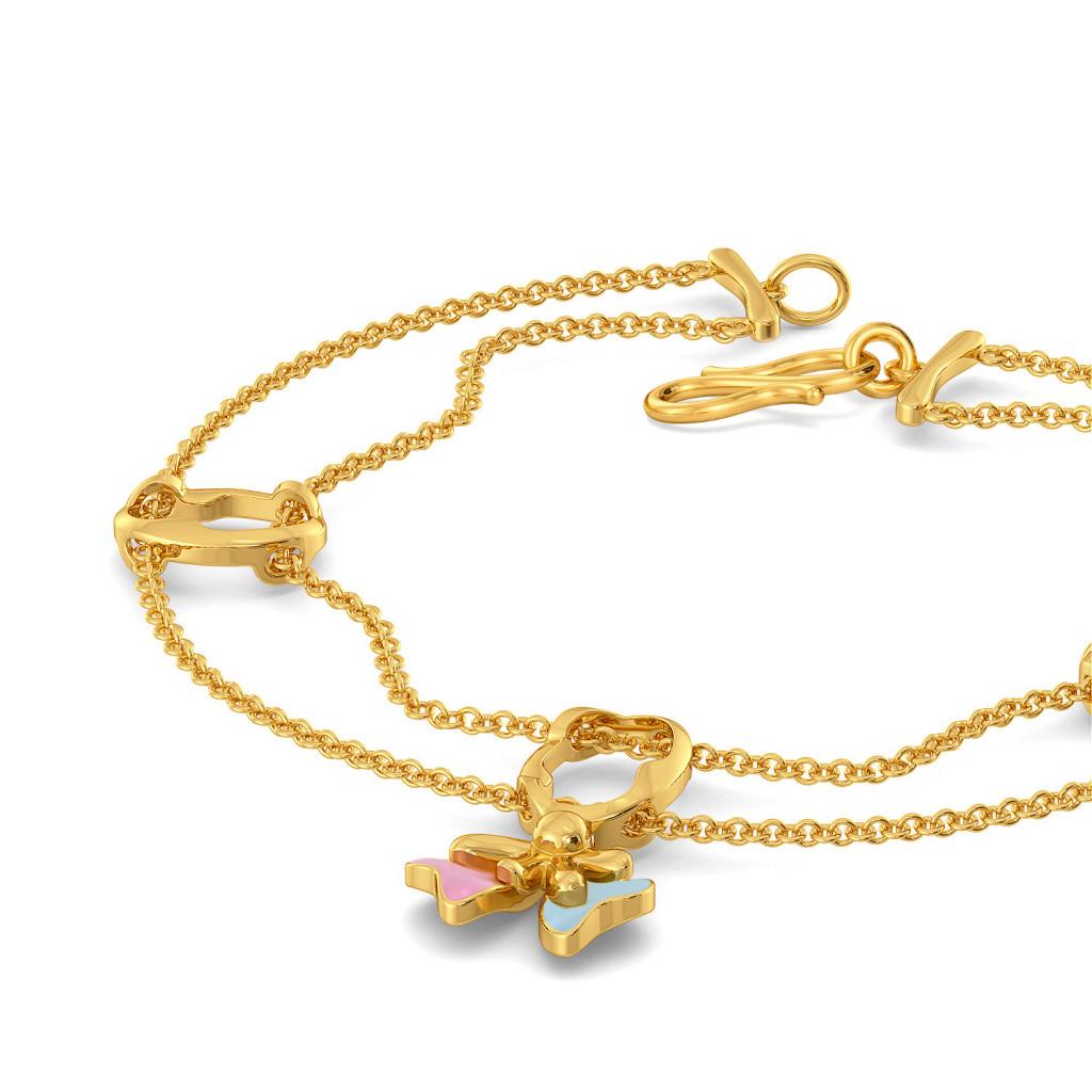 Fleur n Finesse Gold Bracelets