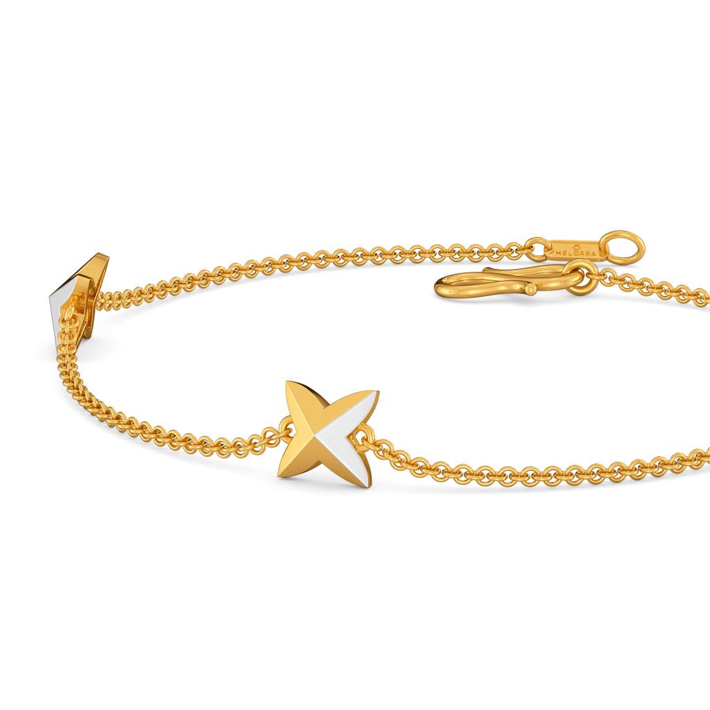 Angel Punk Gold Bracelets