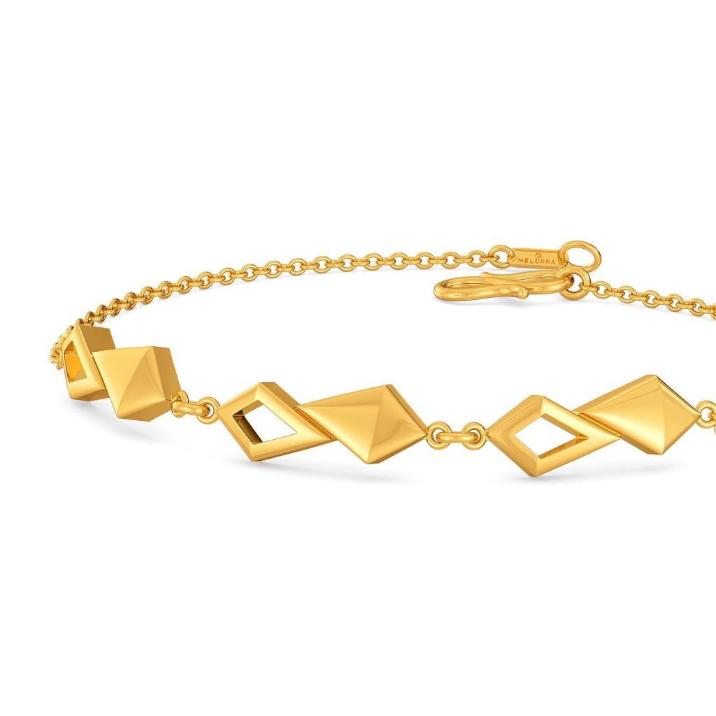 Fabulously Fringe Gold Bracelets