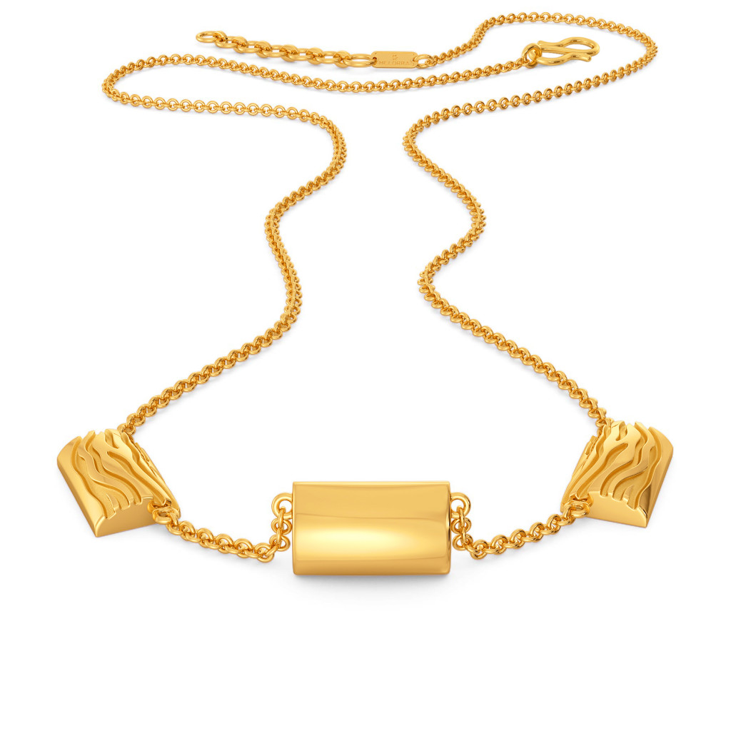 Club Cub Gold Necklaces