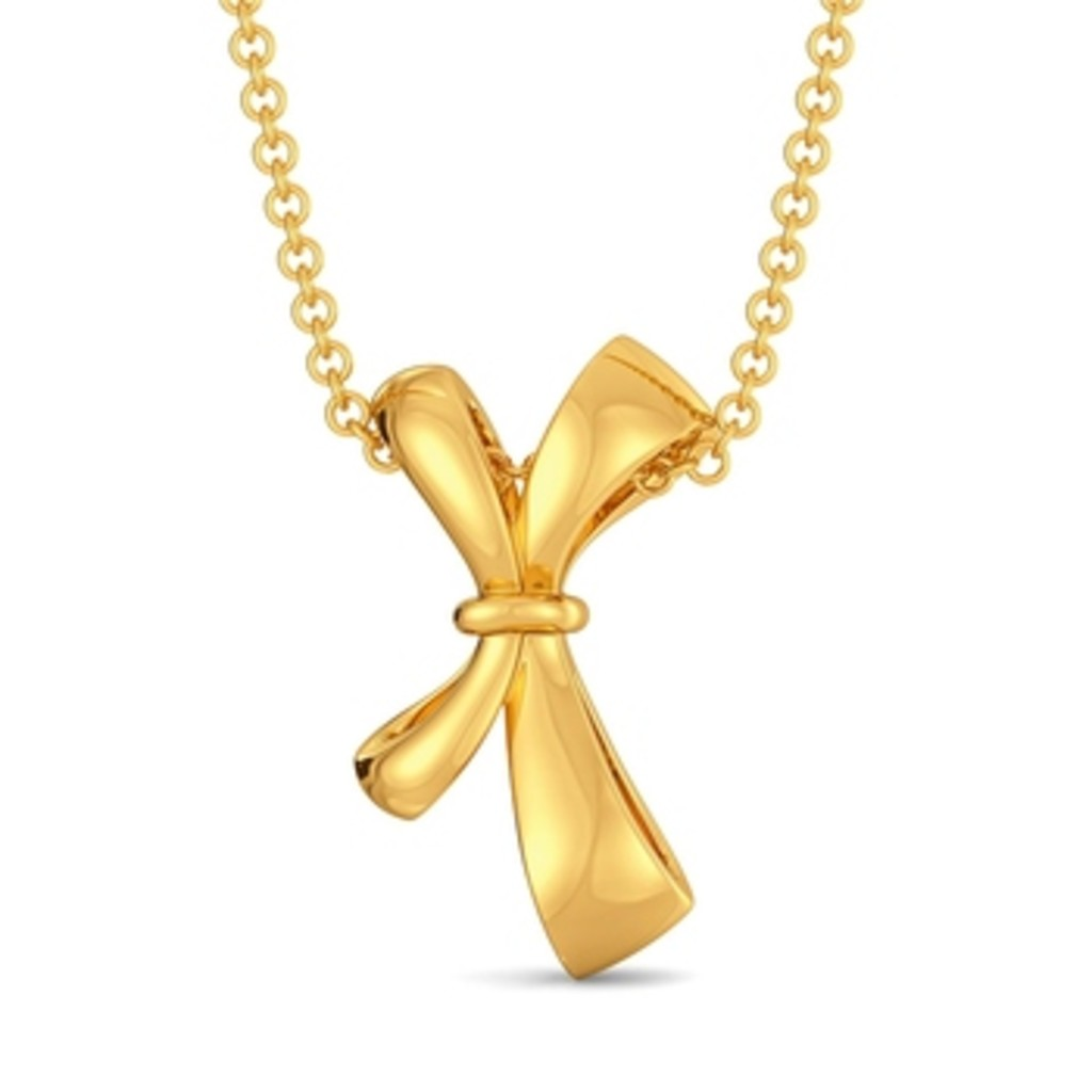 Lace Glaze Gold Pendants