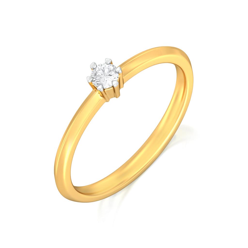Single Jingle Diamond Rings