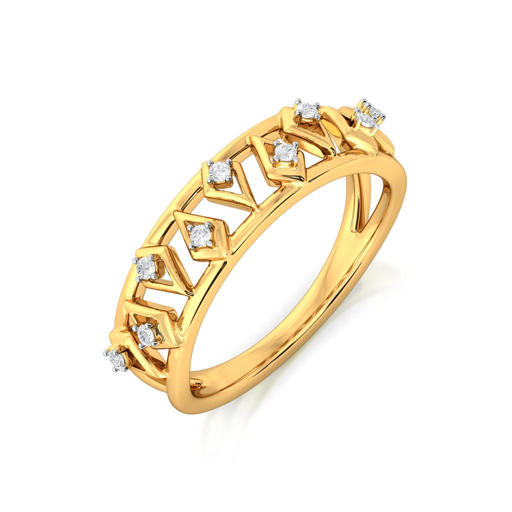 Kite Might Diamond Rings