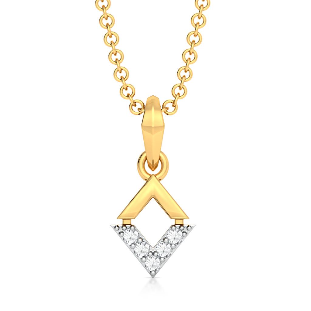Dual Spectacle Diamond Pendants