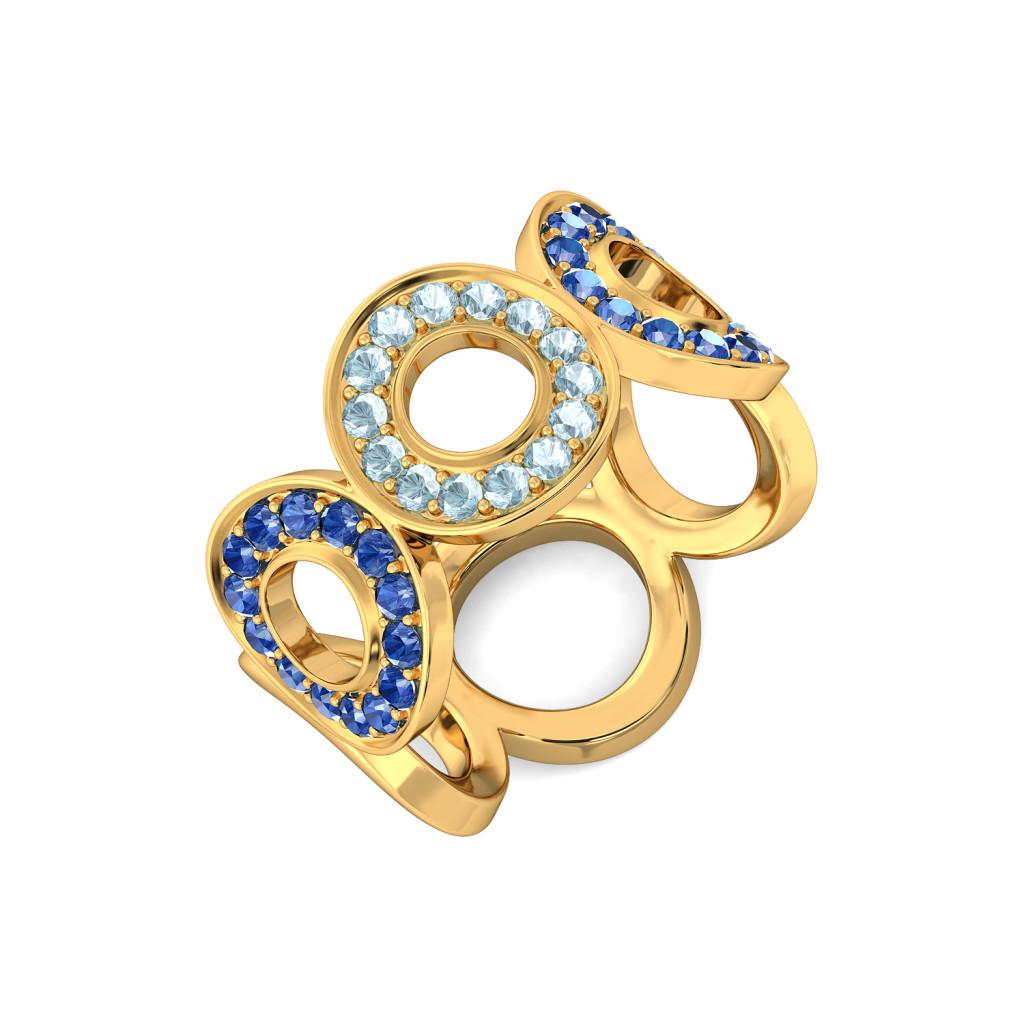 Wild Blue Yonder Gemstone Rings