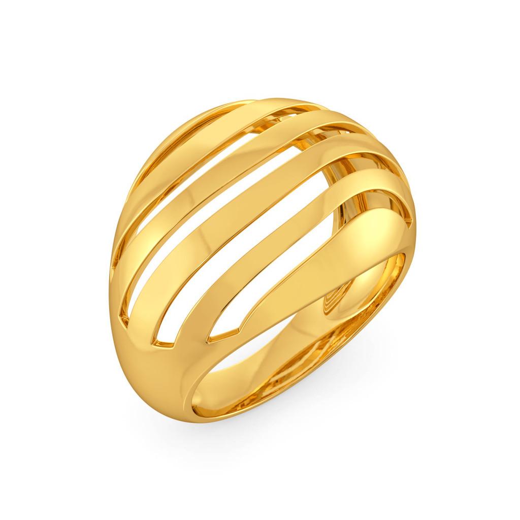 Doll Sprawl Gold Rings