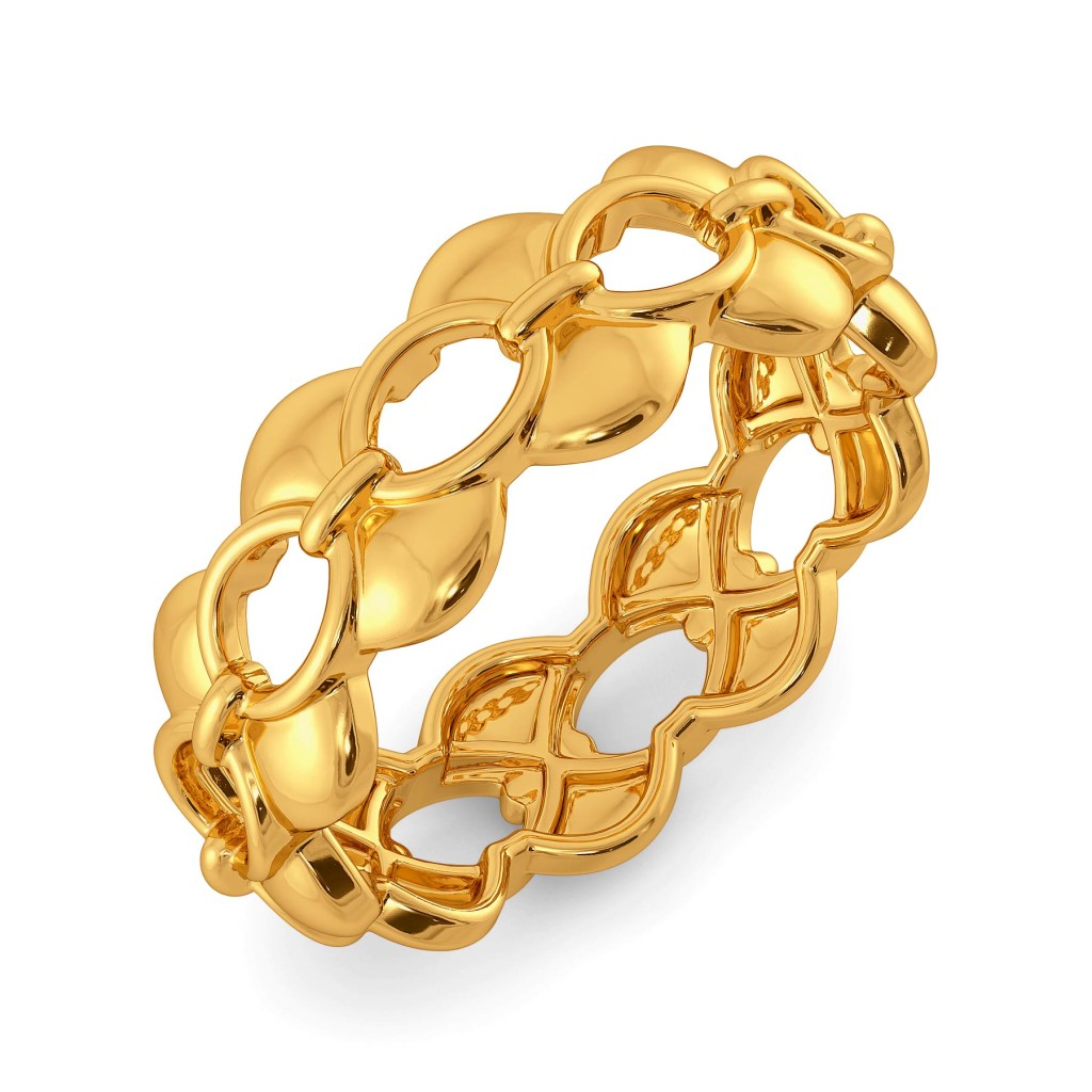 Link in Sync Gold Rings