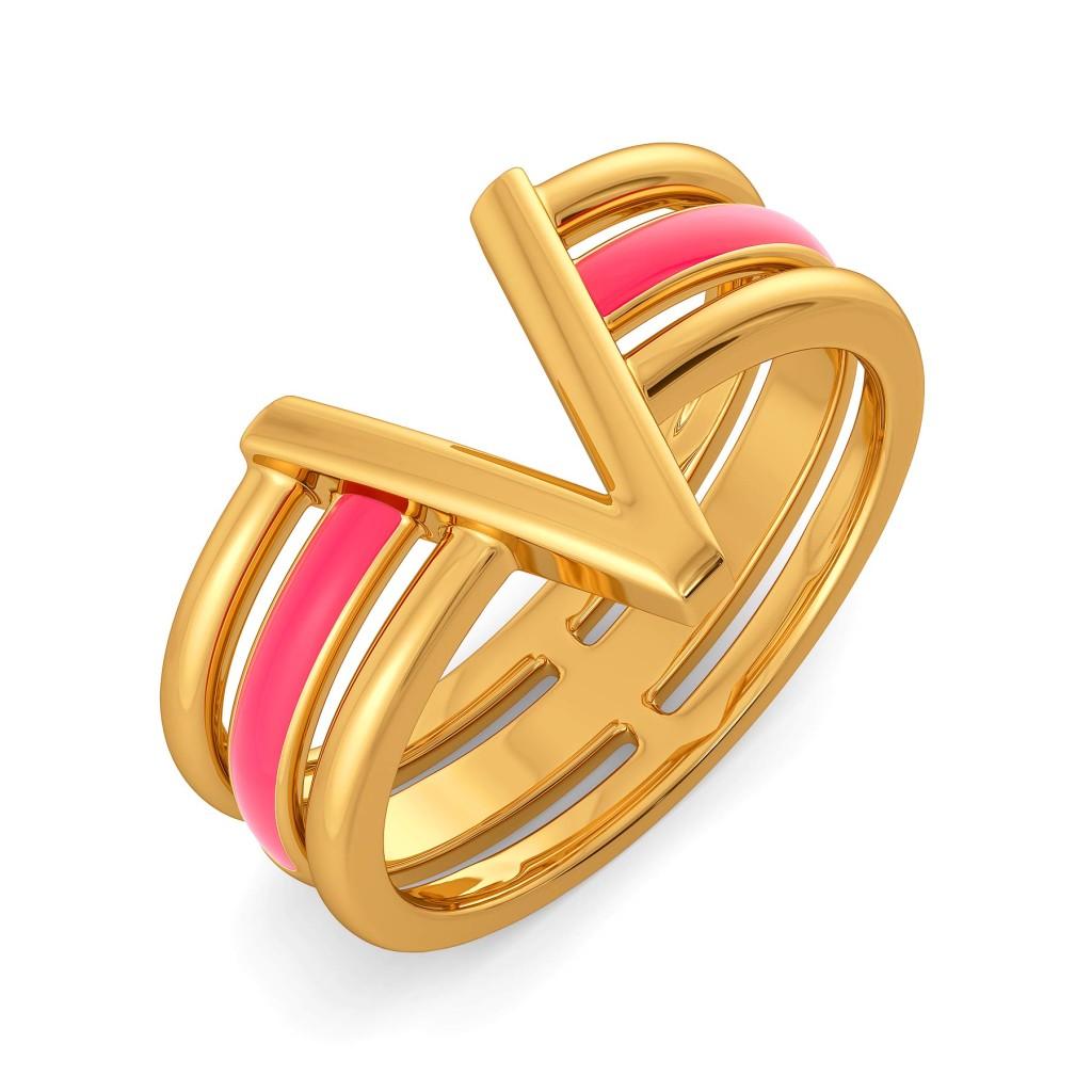 Vacay Vibes Gold Rings