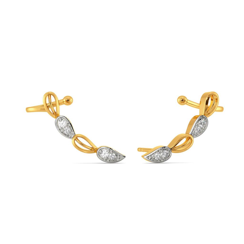 Petal Posse Diamond Earrings