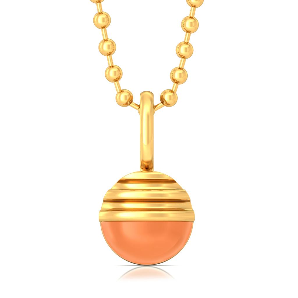 Roundezvous Gold Pendants