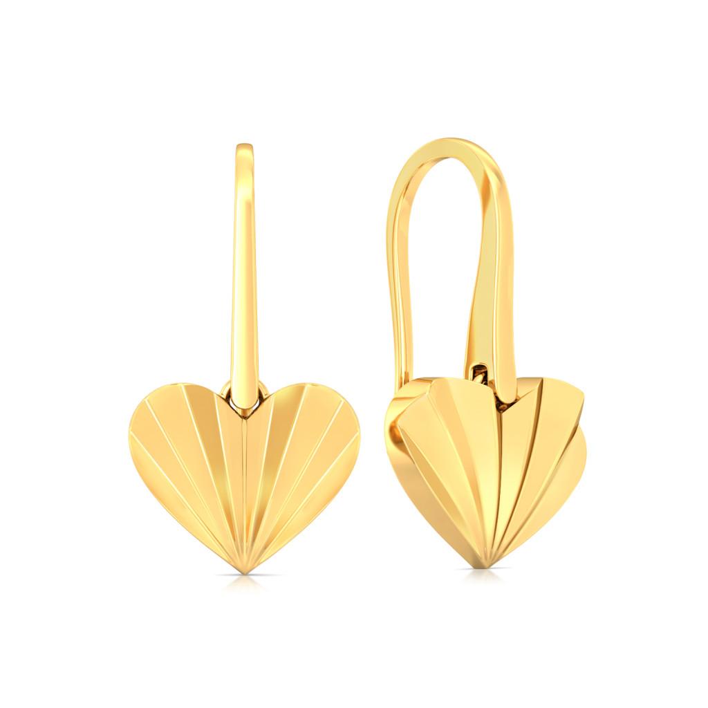 Radical Romance Gold Earrings