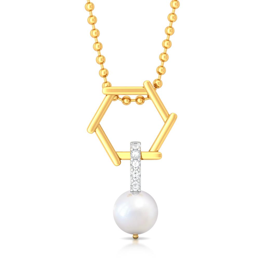 Drop & Dazzle Diamond Pendants