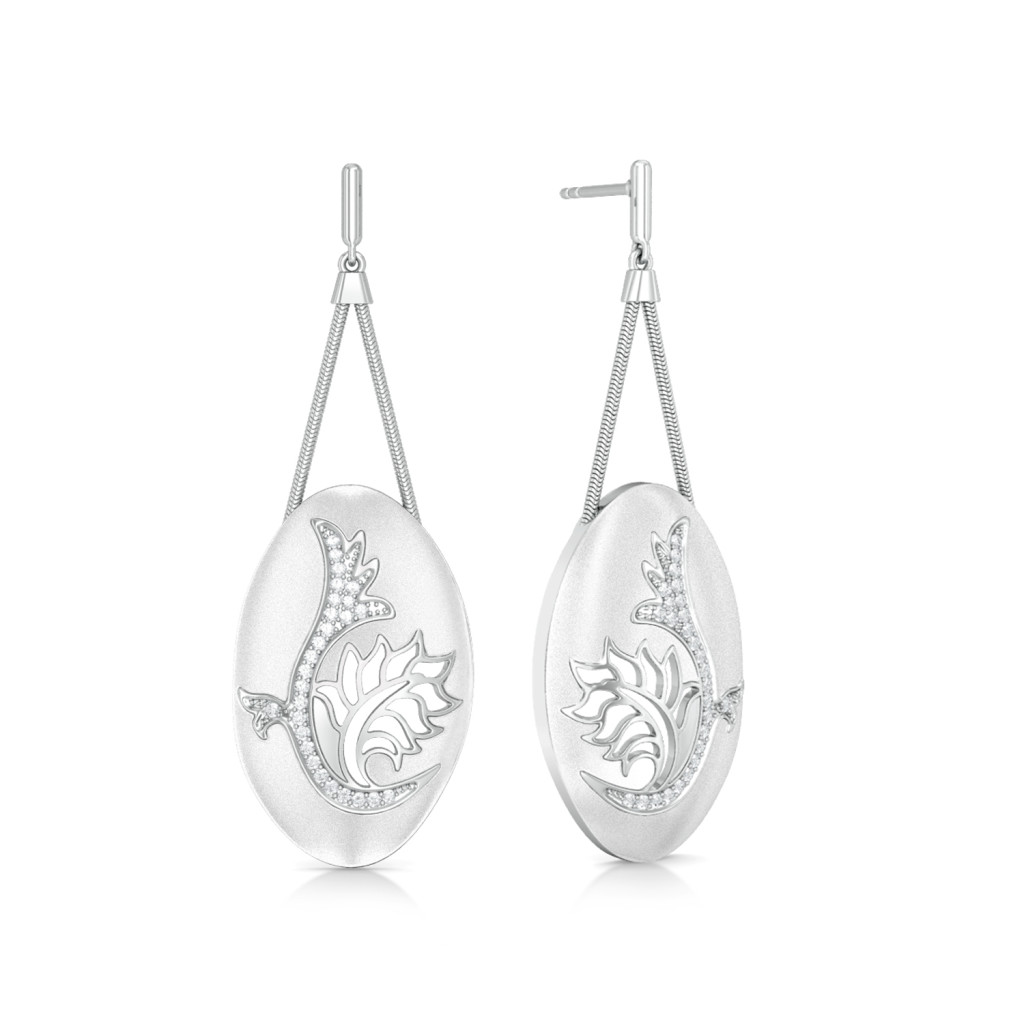 Chantilly Charm Diamond Earrings