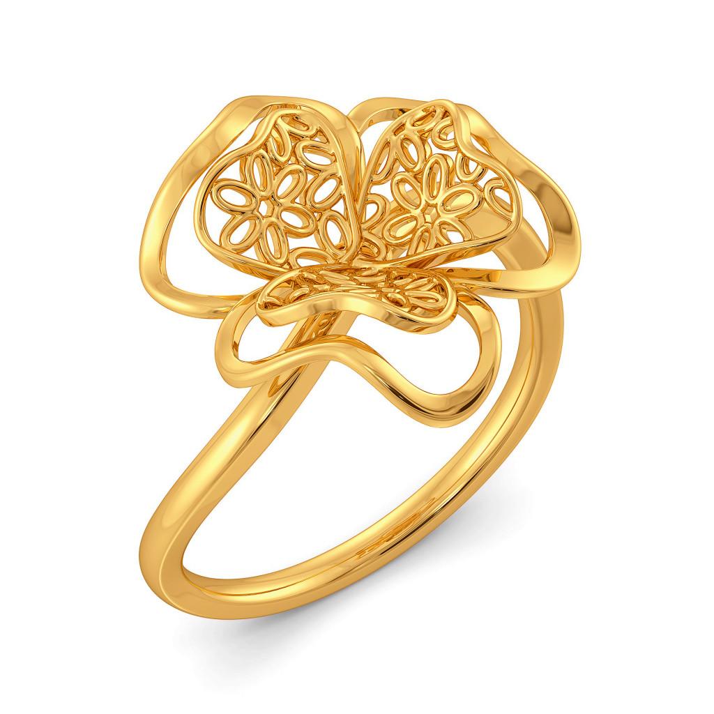 La La Lace Gold Rings