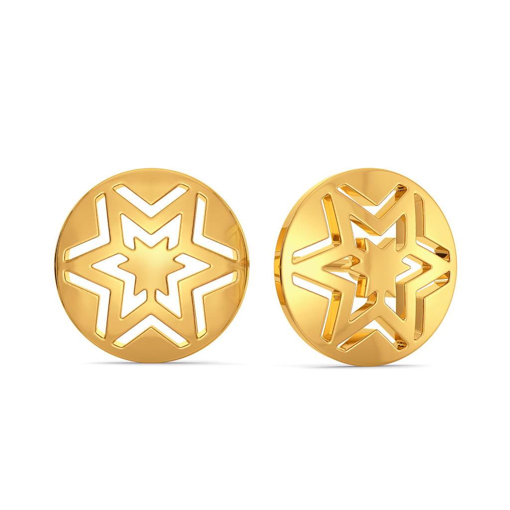 Brand Brew Gold Earrings