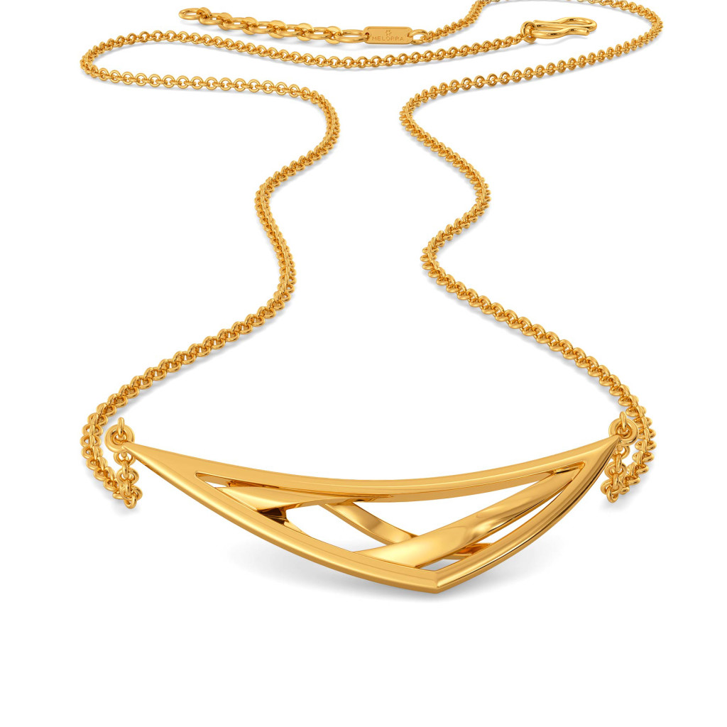 Quirky Vibes Gold Necklaces