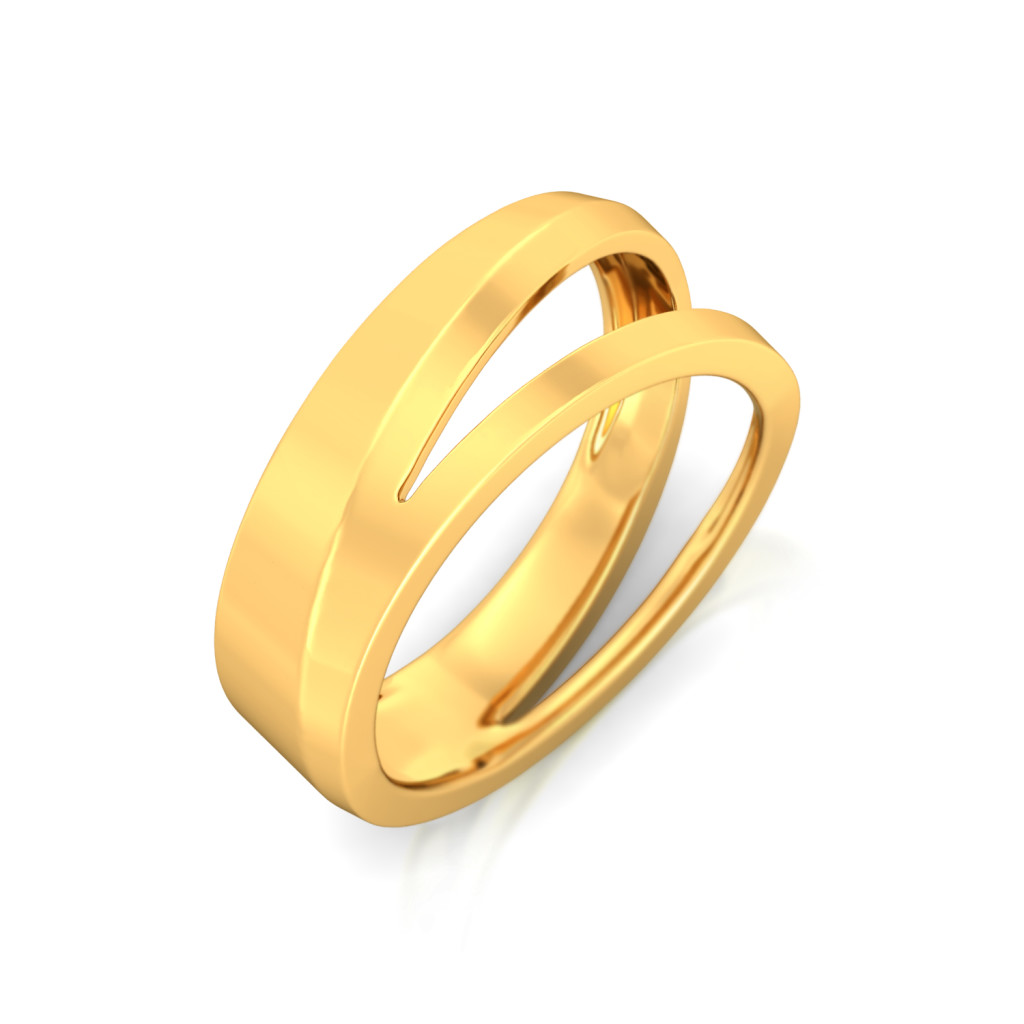 Shape Shine Gold Rings
