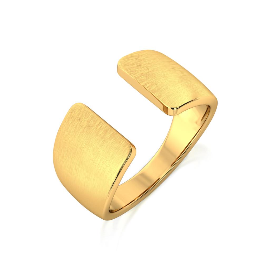Chic Speak Gold Rings
