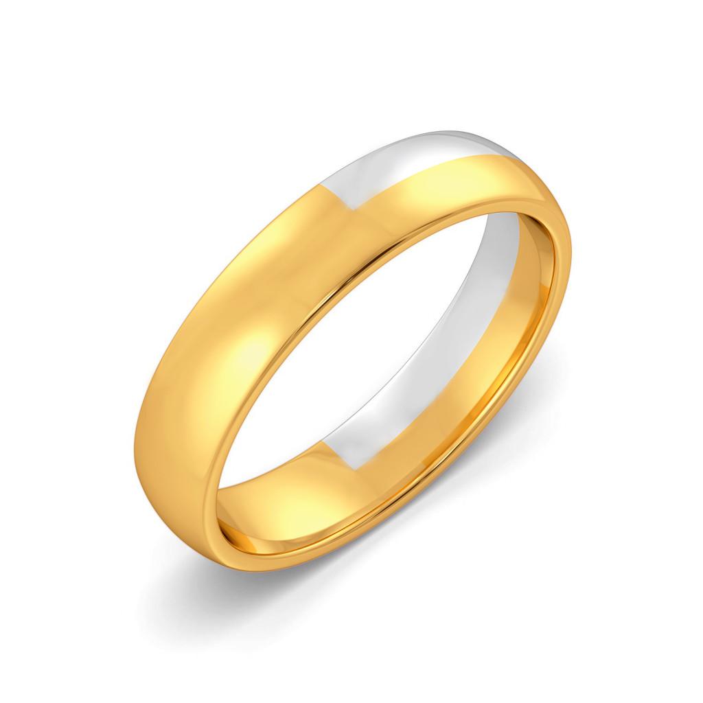 The White Hunt Gold Rings