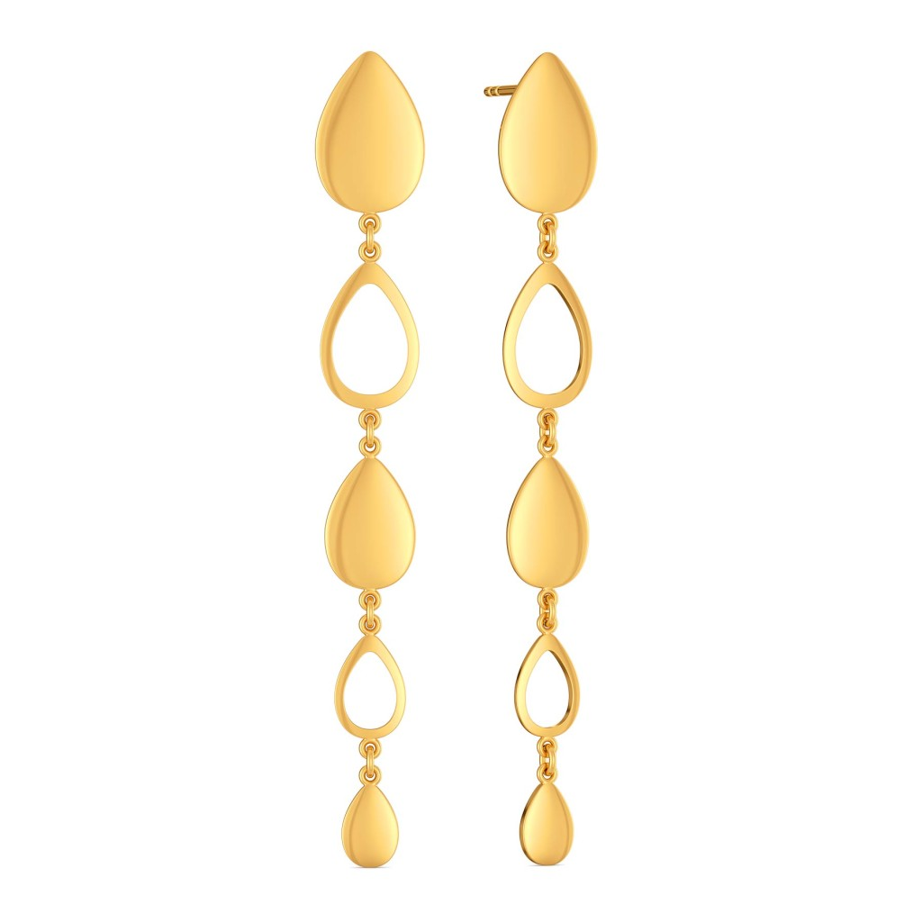 Golden Afterhours Gold Earrings