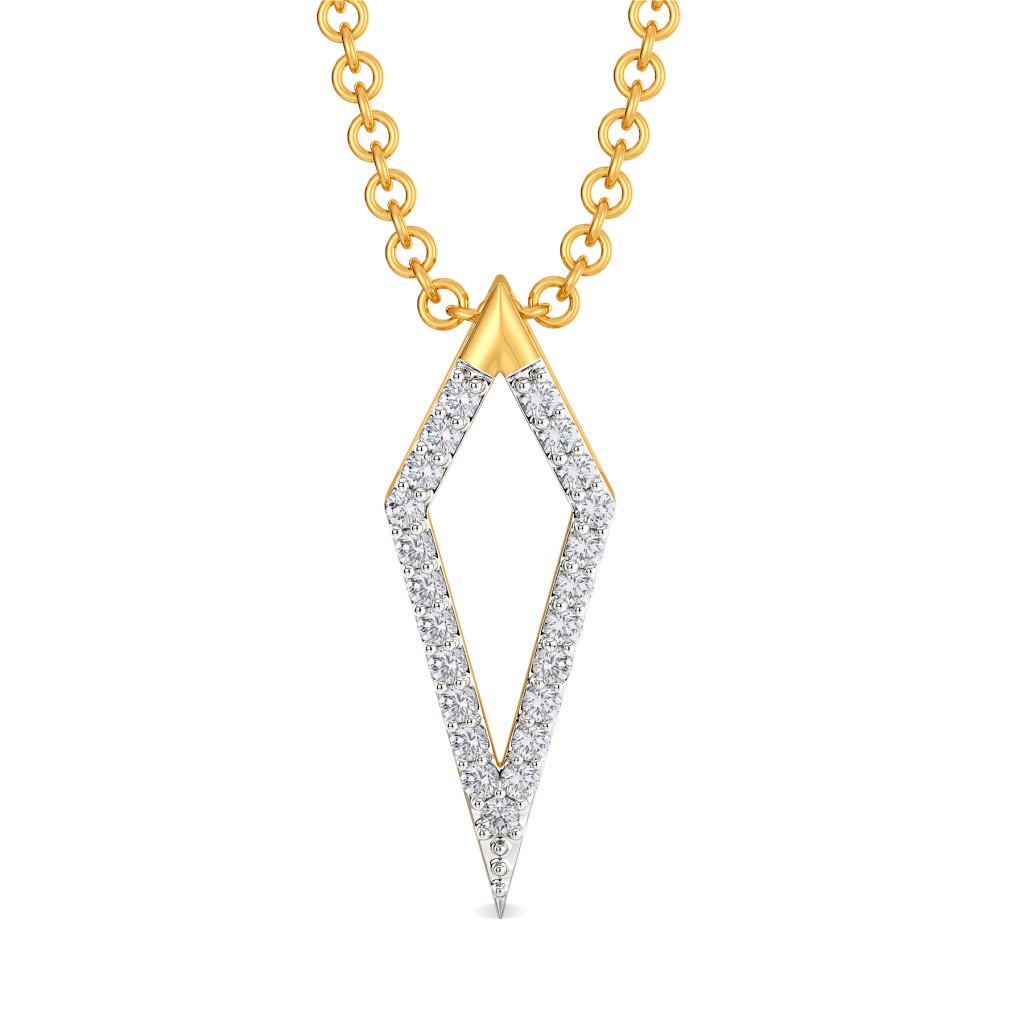 Tailored Power Diamond Pendants