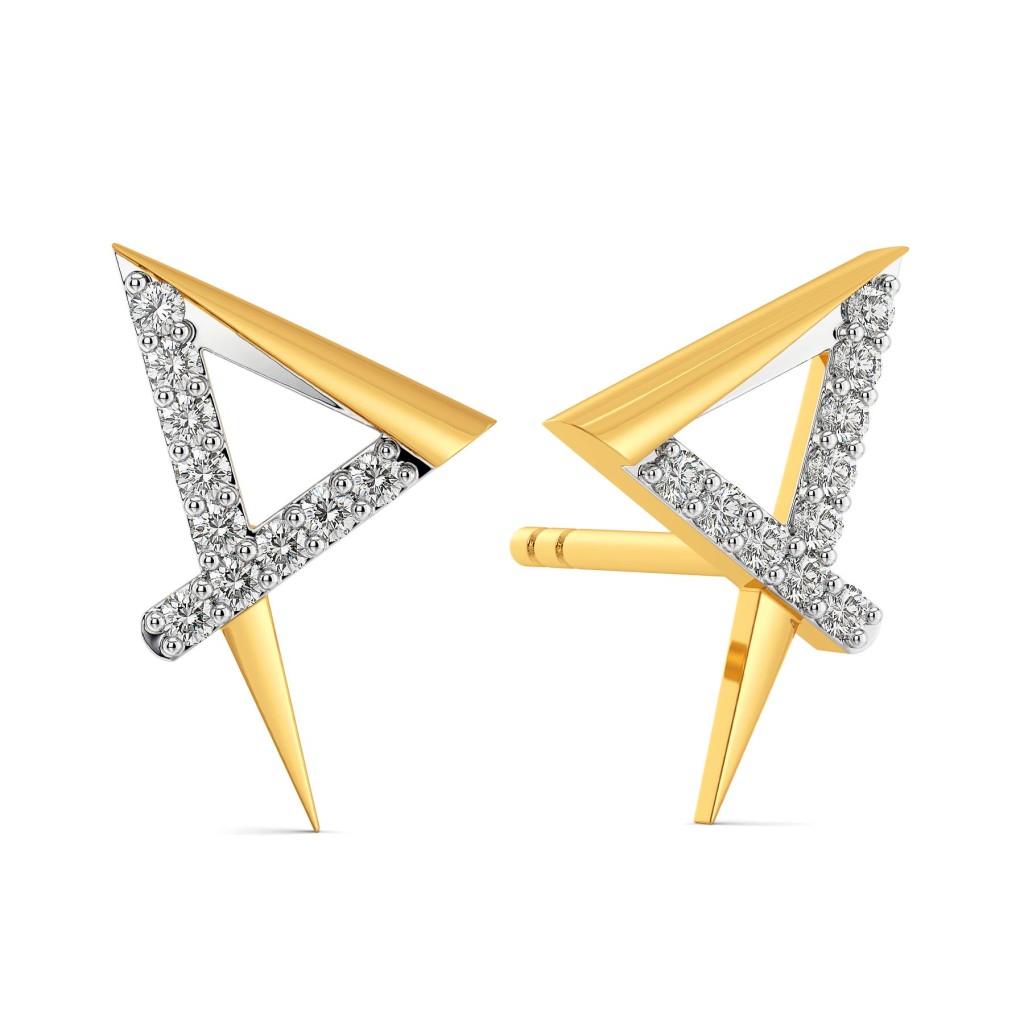 Power Packed Diamond Earrings