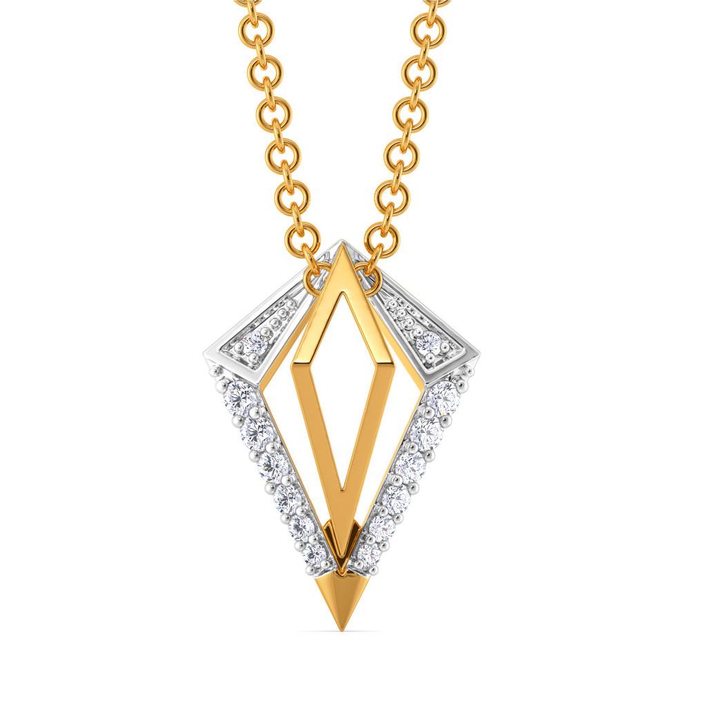 The Power Pose Diamond Pendants