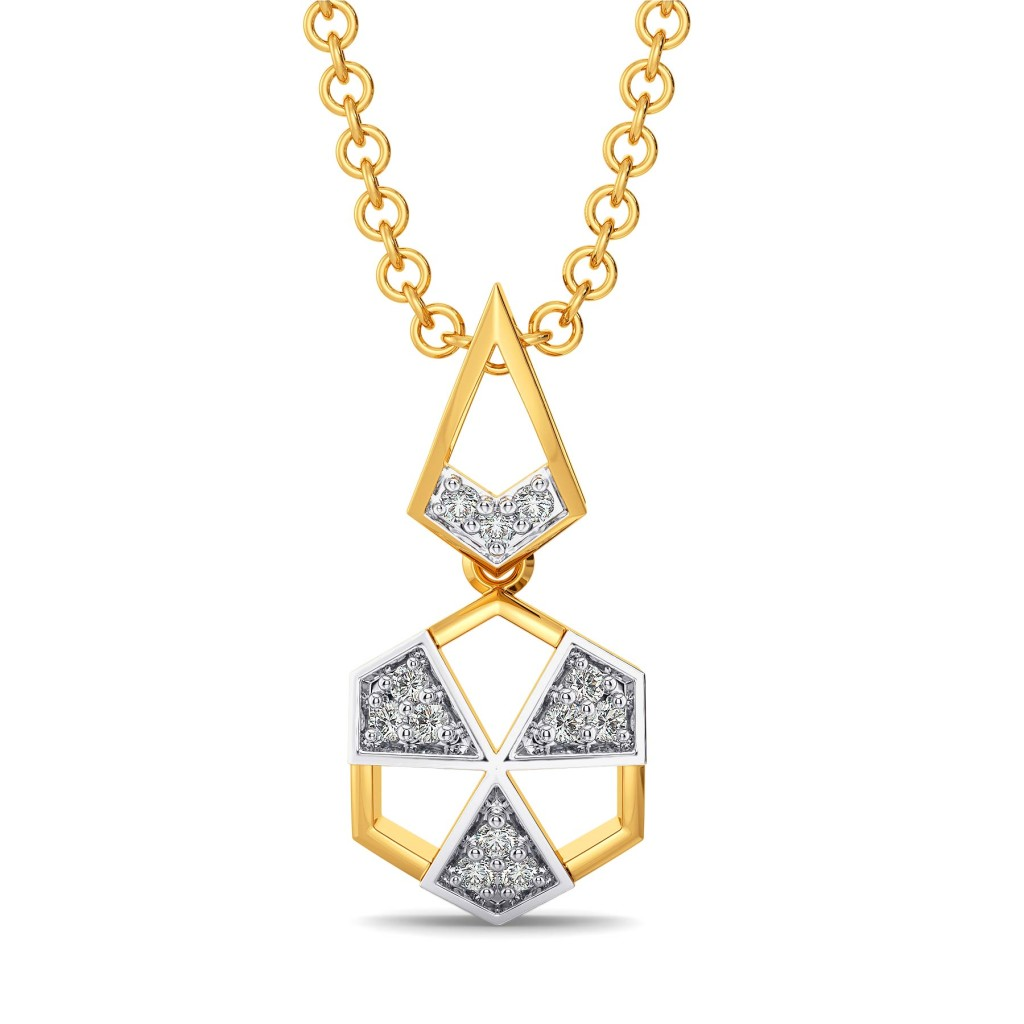 Power Punch Diamond Pendants