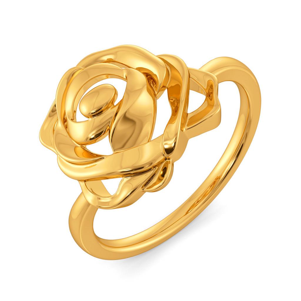 Romantic Rage Gold Rings