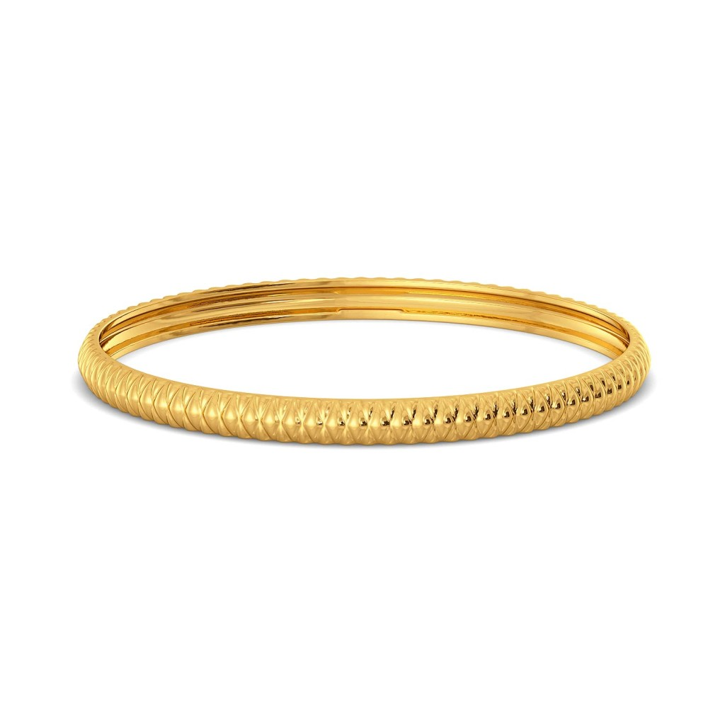 Rattle Tattle Gold Bangles