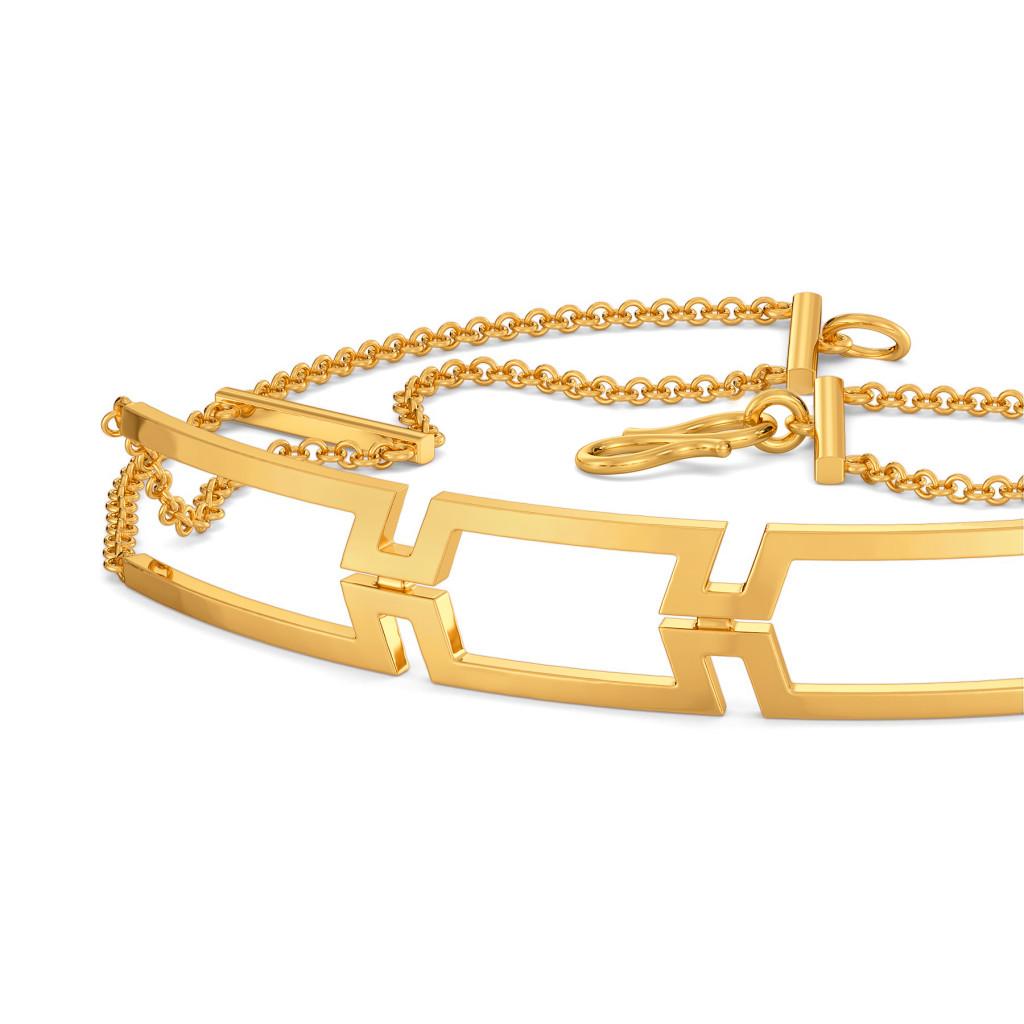 Drama Rules Gold Bracelets