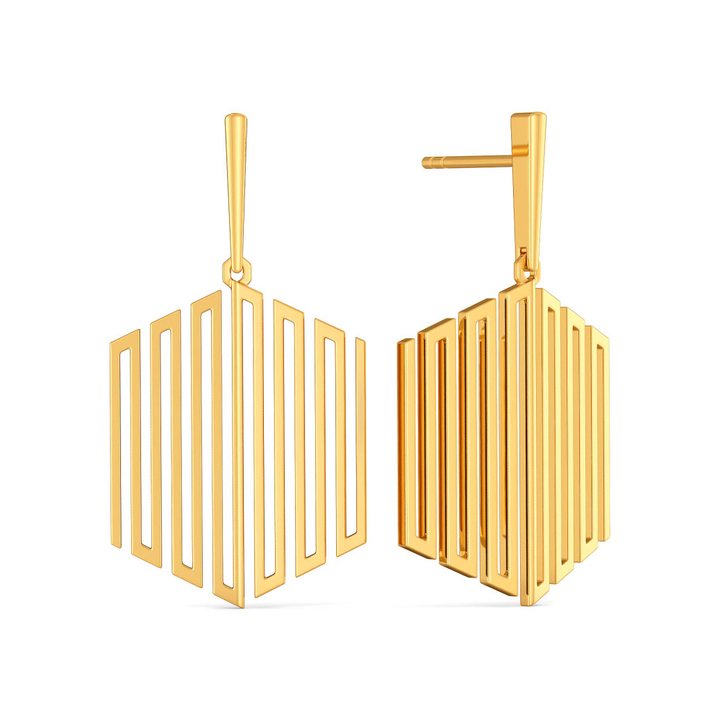 Extra Extravagant Gold Earrings