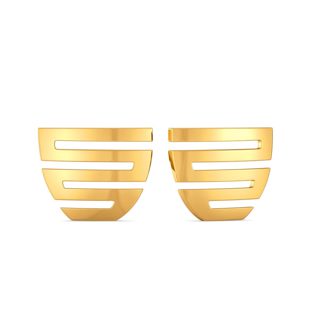 Glam Games Gold Earrings