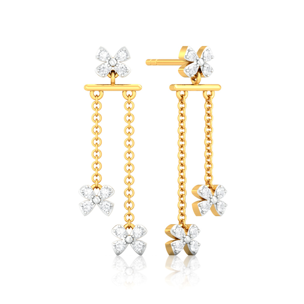Sparkle & Fly Diamond Earrings