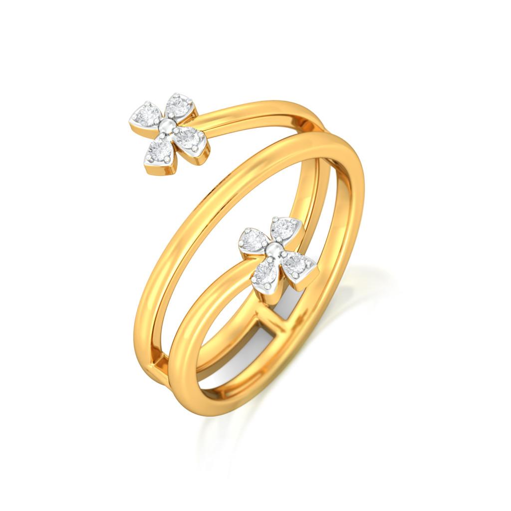 Sparkle & Fly Diamond Rings
